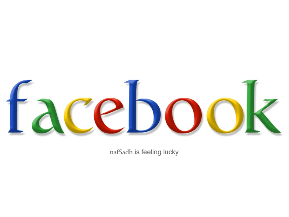 Facebook, by Google