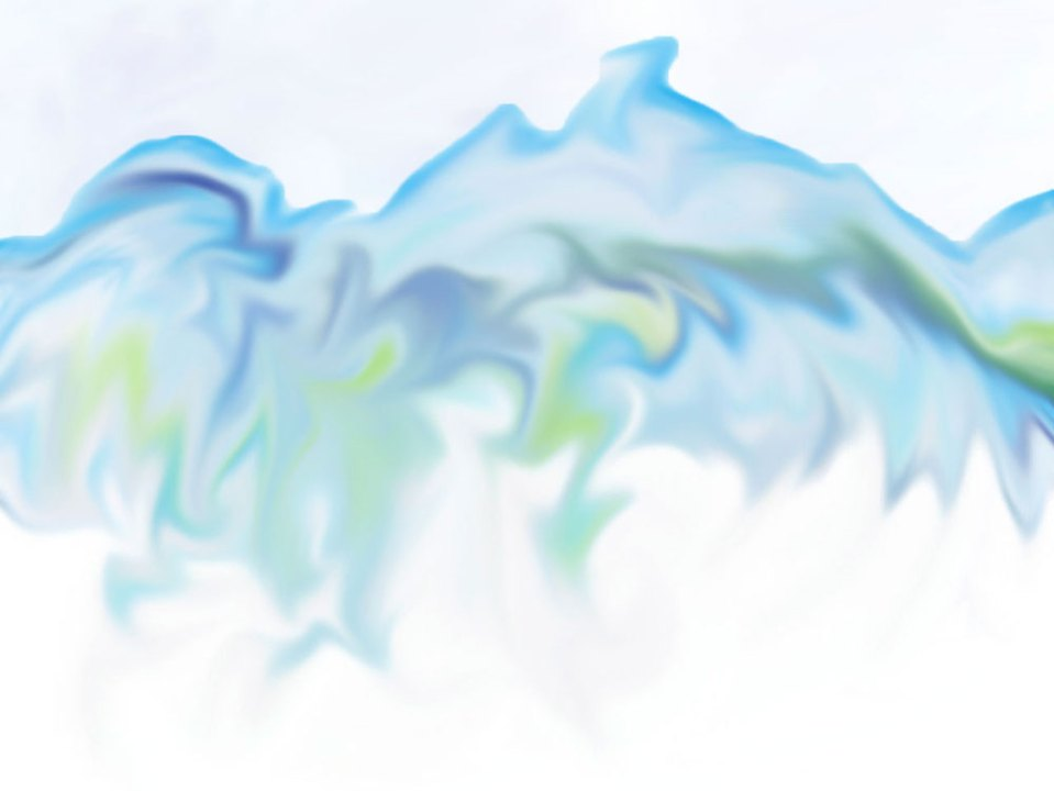 Rhythm of mountains